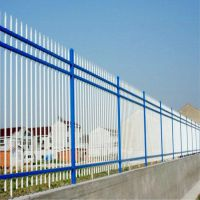 供应围栏锌钢铁艺防护栏 小区别墅围墙厂区锌钢隔离护栏 热镀锌围栏