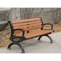 湖南定做广场椅户外休闲室外园林座椅铸铁脚(方贸园林F-2001)