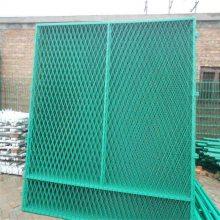防眩网护栏 钢板网防护网 桥梁隔离网