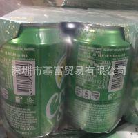厂家香港进口苏打水 玉泉忌廉汽水苏打水 奶油味苏打汽水批发