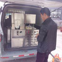 销售麻花型膨化机 四缸汽油机带玉米大米膨化机 月牙湾康乐果