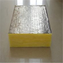 厂家制作外墙玻璃棉板 吸音降噪玻璃棉