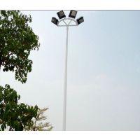 6米7米篮球场灯杆订购 户外双头LED照明投光灯厂家直销康腾体育