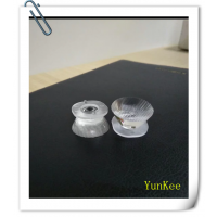 YK-211045TAS-XPE 10*45度条纹凹面 XPE侧光源 注塑模组透镜