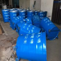 户外镀锌板挂车铁皮垃圾桶生产厂家