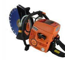 EHS350C汽油切割机(日本松本) 一、 切割材料 钢材、钢管、电缆、铝材(使用润滑油)