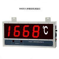 盛达壁挂式大屏幕数显钢水专用有线测温仪W600