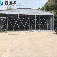 富阳区推拉蓬 布 电动推拉棚/规格齐全/坚固耐用/安装活动式遮阳棚