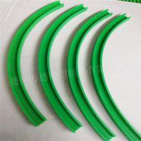 厂家专业定制45度聚乙烯弯轨自润滑耐磨损高分子弯轨