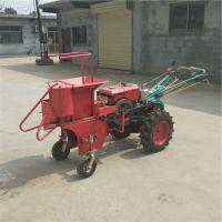 小块地收苞米用什么样的机器好 启航单行手扶玉米收割机 棒子收获机厂家