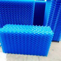 电厂双曲线水泥冷却塔专用蓝色白色S波填料厂家现货