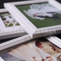 婚纱照相框挂墙画框装饰像框复古金色7寸创意欧式相框摆台九宫格