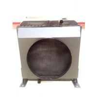 供应农机水箱收割机配件奇瑞谷王TB70/TB80收割机大孔低温水箱散热器