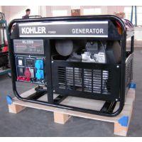 美国科勒百利通10KW汽油发电机开架三相380V