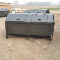 厂家直销垃圾箱 户外勾臂式垃圾箱 环卫中转垃圾桶批发