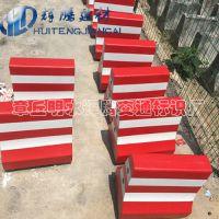 水泥隔离墩厂家直销500*500红白隔离墩尺寸定制水泥墩防撞墩