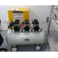上海劲豹无油空压机型号SLB135功率2400W实验室静音无油空压机