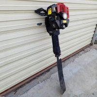 杨树苗汽油挖树机 大直径动力树木起苗机 起树机