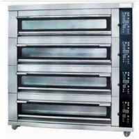 供应新麦SK-644FG 四层十六盘玻璃门电烤箱电烤炉