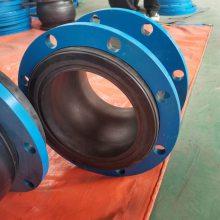 供应沈阳DN200耐油橡胶软接头,KXT单球橡胶接头报价