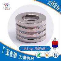 【厂家直销】环型钕磁铁 Ring NdFeb Magnet 带孔磁铁 磁环 薄壁磁铁 老董磁铁
