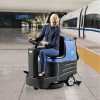容恩驾驶式洗地机R-XBEN小型迷你版 酒店|医院|机场水泥地面用