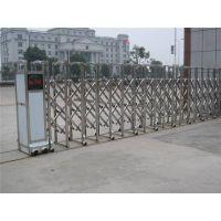 西安厂家直销不锈钢 铝合金电动大门学校公司专用伸缩门兴泰牌
