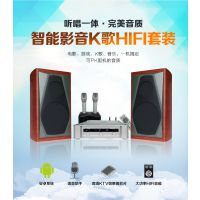 智能影音K歌HIFI系统2.0专业家用KTV音响套装