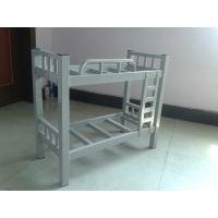 厂家定做批发宿舍高低床|学生上下铺铁床公寓床港文工厂