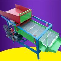 单相电粮食筛选去杂机 生产多功能大豆小麦种子筛选机 乐丰牌