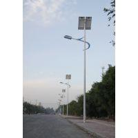 百耀照明新疆喀什12伏LEDQ235优质钢材太阳能路灯工程案例