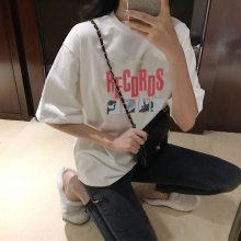 热卖夏季新款韩版女装t恤 杭州便宜女士短袖打底衫批发夏季服装 棉