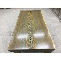 鸡翅木大板桌 红木家具办公茶台餐桌 实木原木大板电脑桌160长82宽现货