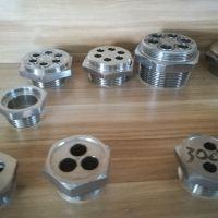 厂家直销不锈钢电热管六角法兰 电热接头 通用五金配件