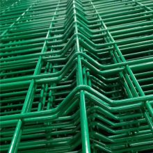 铁路围墙网 别墅小区护栏 三角折弯护栏