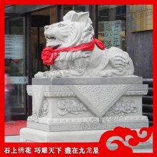 花岗岩石雕汇丰狮 2米高石狮子雕塑