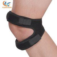 小批定制 SBR面料髌骨带运动护膝跑步篮球减震加压髌骨带透气款 绑带护膝