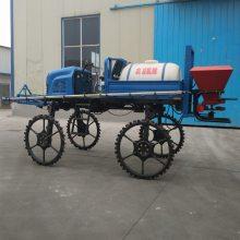 旭阳自走式喷杆喷雾器柴油四驱打药机农用杀虫喷药车