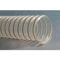 供应pu钢丝通风管 聚氨酯塑筋软管 PU塑筋软管金属软管德州雨泽