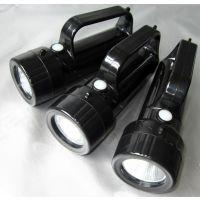 BAD301华荣款手提式强光工作灯 红黄白 红绿白手提信号灯 USB充电LED探照灯