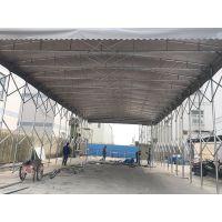 上海嘉定区定做各种大型户外活动雨蓬轮式PVC布推拉棚夜市推拉帐篷