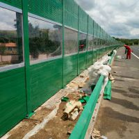 玻璃棉隔音墙厂家/金属透明声屏障/隔声屏障