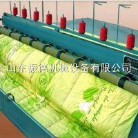 纺织专用多功能电动引被机价格 振德多针型套被引被机