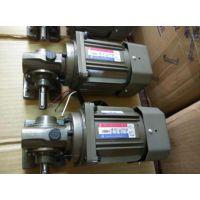 厦门东历电机GAI-60单相异步电动机4级涡轮减速电机