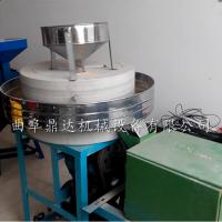 热销小型石磨面粉机 100型面粉专用石磨机