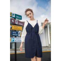幕拉女装现货多种款式多种风格品牌折扣女装货源走份