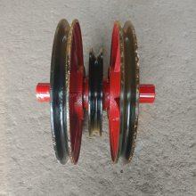 非标定制滑轮组 钢丝绳定向滑轮 5吨-50吨供应出售 澳尔新导绳轮