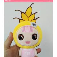 深圳毛绒玩具卡通公仔 企业形象吉祥物来图来样定制生产