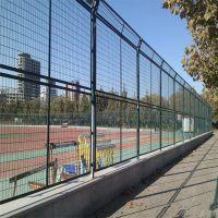 绿色浸塑护栏网 高速隔离栅厂 建筑用铁丝栅栏