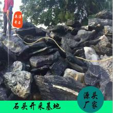 吉林青龙石批发 假山石价格 太湖石供应商 黄蜡石制作 庭院设计专用